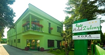 Billiges Hotel in Posen Zielony